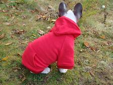 Hundepullover Uni XXS - XXL Pullover Hund Kapuzenpullover Sweater Pulli Hoodie