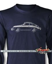 Porsche 356 C Coupe Long Sleeves T-Shirt - Multiple Colors & Sizes - German Car