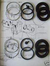 (x2) JAGUAR E Type XKE (Ser 2 & 3) REAR BRAKE CALIPER REPAIR SEALS KITS (68- 74)