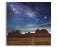 Landschaftsfotografie – Ausblick am Monument Valley, USA auf Leinwand