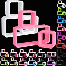 Wandregal Bücheregal Holzregal Hängeregal Cube CD Regal 3er Set Farbwahl #65