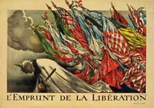 W2 Vintage WWI French Propaganda War Poster Print WW1 A1 A2 A3