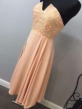 ASOS - Jarlo Violetta Midi Dress With Lace Bodice RRP £90 (AS-38/7)