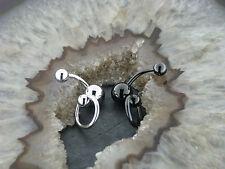 Bauchnabelpiercing SLAVE Ring Bauchnabelstecker Ohrstecker Ohrschmuck