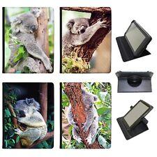 Azzumo Australian Koala  Faux Leather Case Cover / Folio for the Samsung Tablet