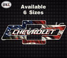 Chevy American Flag chevy American Flag USA Diesel Decal Sticker Truck Sticker