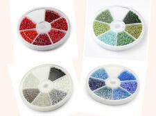1143 100 Stück Bunt 6mm Matt Glasperlen Glas Perlen Beads frosted Milchglas