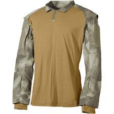 MFH US Tactische Hemd Bestrijding UBACS Elastische Heren Militaire HDT Camo AU