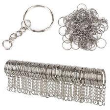 Loop Split Ring Hoop Chain Connector DIY Keyring Keychain Jewelry Making Acces