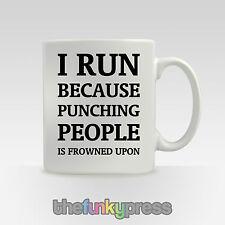 COURSE salle de fitness slogan tasse thé café CADEAU