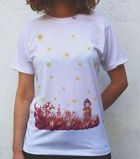 Setsuko & Fireflies T shirt Artwork, Grave of the Fireflies