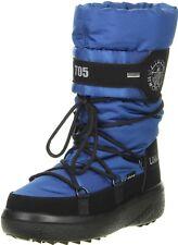 Vista Damen Winterstiefel Snowboots blau