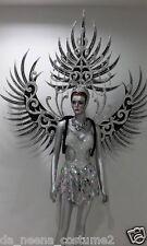 H018 Da NeeNa Dance Latin Wing Burlesque Blue Angel Victoria Secret Wings