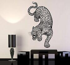 Vinyl Wall Decal Leopard Predator Animal Big Cat Zoo Stickers (1146ig)