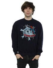 Marvel Homme Christmas Spider-Man Sweat-Shirt