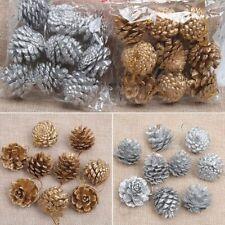 9PCS Gift Hot Home Decor Ornaments Pine Cones Christmas Xmas Tree Decoration