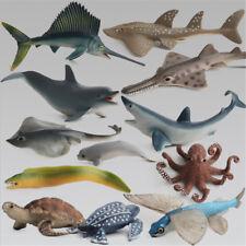 Ocean Sea Animals Turtle Kids Educational Kids Simulation Model Figure Toy HT