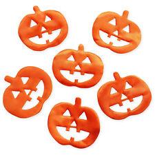 10pcs Padded Pumpkin Halloween Craft Embellishments Scrapbooking Cardmaking