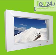 Kellerfenster AKF Kipp 2000 weiß mit Dickglas 5 mm Kunststoff Fenster