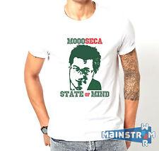 T-SHIRT MAGLIETTA ENRICO PAPI SARABANDA MOOOSECA TRICCHE TRACCHE STATE OF MIND