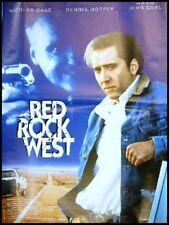 RED ROCK WEST Affiche Cinéma Movie Poster NICOLAS CAGE