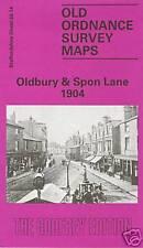MAP OF OLDBURY & SPON LANE 1904 (BEST PRICE ON EBAY 12/9/15)