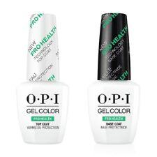 Genuine Opi GelColor Nail Pro Health Base Coat & Top Coat 0.5 oz Each