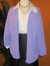 KATE HILL NWT $94 lavender purple women's cardigan sweater