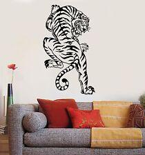 Vinyl Wall Decal Tiger Predator Animal Big Cat Zoo Stickers (1026ig)