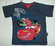 Chicos Camiseta de algodón gris con imagen de Disney Pixar Cars Mcqueen