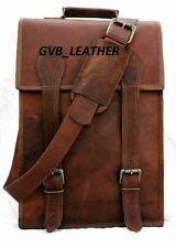 Large Excellent Messenger Shoulder Bag Real Leather Satchel Laptop Briefcase