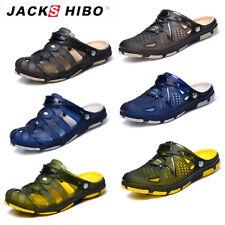 JACKSHIBO Herren Damen Flip Flop Clogs Badeschuhe Sandalen Hausschuhe Slippers