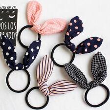 Cute Women Flower Rubber Bands Elastic Hair Band Hair Ties Bow For Children Girl