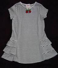 Gymboree CHERRY PIE Stripe Ruffle Hem Knit Dress NWT 4 5 7