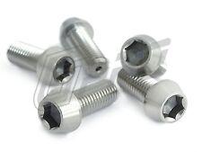 Bolt Screw Titanium M10 25L 30L 35L 40L 50L 60L Taper Torx Hex Forged P1.25/1.5