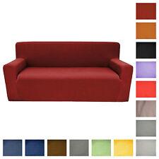COPRIDIVANO 3 POSTI divano 15 colori  tessuto liscio PIQUET max cm 240
