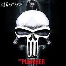 Stainless Steel men ring the Punisher skull ring punk biker fashion jewelry