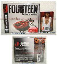 J Fourteen the best of ignitions Taiwan CD+DVD+Sticker (Luna Sea)