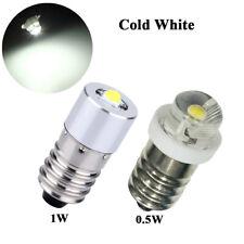 E10 Led Bulb 0.5W /1W 3V 4.5V 6V DC Flashlight Torch Led Conversion Upgrade Bulb