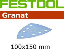Festool Granat Schleifblätter Delta 100x150 Klett 7 Loch P40 - P400 für z.B. DTS
