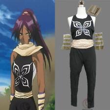 Bleach Shihouin Yoruichi Cosplay Costume Free Shipping