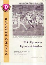 OL 73/74  SG Dynamo Dresden - BFC Dynamo Berlin