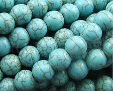 Türkis Perlen Spacer Beads zum Basteln Perlenkette Schmuckherstellung 4 6 8 10mm
