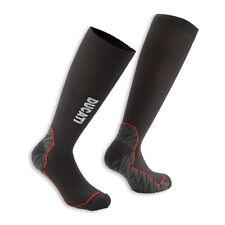 Ducati Funktionssocken Socken Strümpfe  Tour 14 schwarz mit grau roten Einsatz
