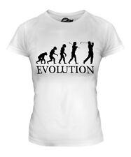 GOLF EVOLUTION OF MAN LADIES T-SHIRT TEE TOP GIFT GOLFER ACCESSORIES