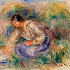 Pierre Auguste Renoir - Woman in Blue Skirt
