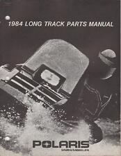 1984 POLARIS SNOWMOBILE LONG TRACK  PARTS MANUAL P/N 9910841