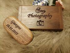 USB-Stick als Werbegeschenk mit Gravur Holz Werbeartikel Logo Wunschtext 32 GB