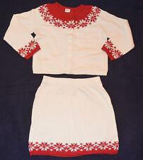 Gymboree MOUNTAIN CABIN Nordic FairIsle Sweater & Skirt Holiday Dressy Set NWT