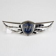 2008-14 Hyundai Genesis Sedan OEM Tail Gate Wing Emblem BLACK CHROME 86330-3M530